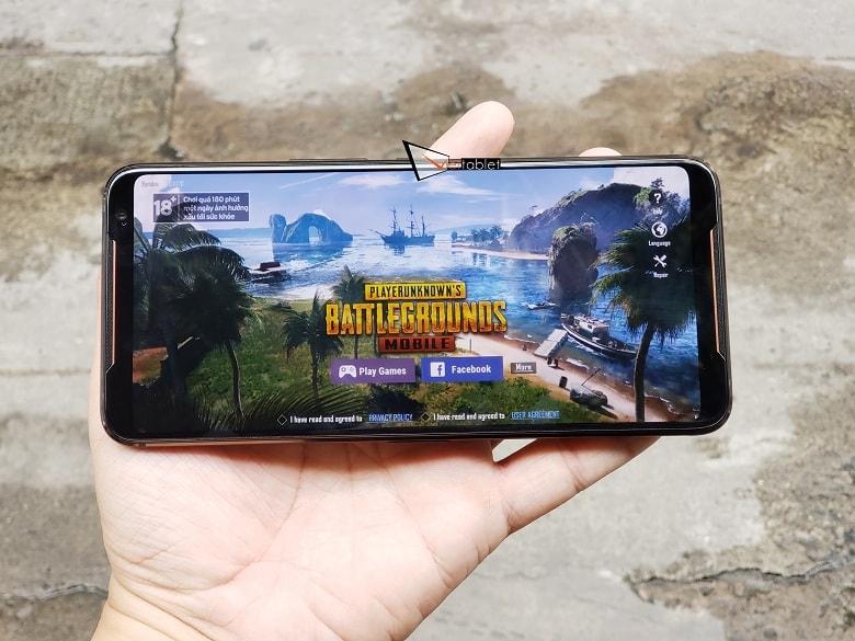 ROG Phone 2 có thể cân được mọi gựa game nặng