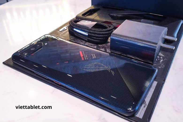 ảnh thực tế Rog phone 5 mới fullbox tại Viettablet