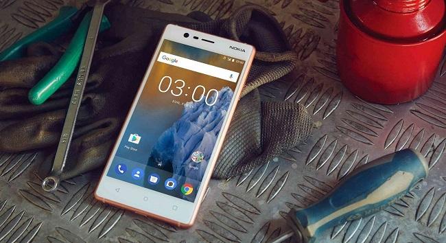 Nokia 3 thiết kế đẹp, cấu hình cao