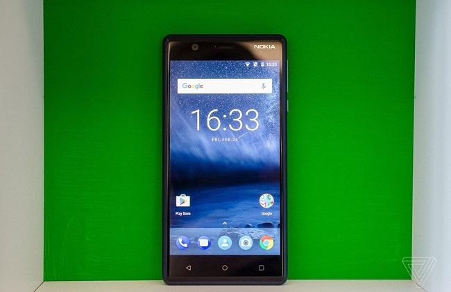 Màn hình Nokia 3 đẹp và sáng