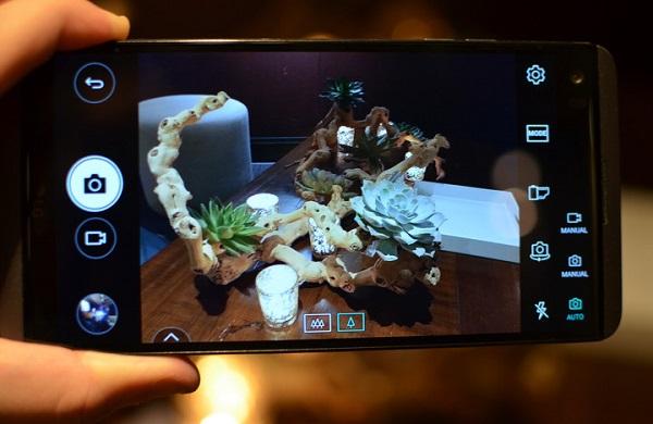 Giao diện chụp ảnh trên LG V20 chính hãng