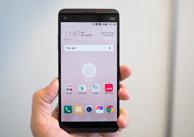 Độ phân giải màn hình LG V20 cán mức 2K