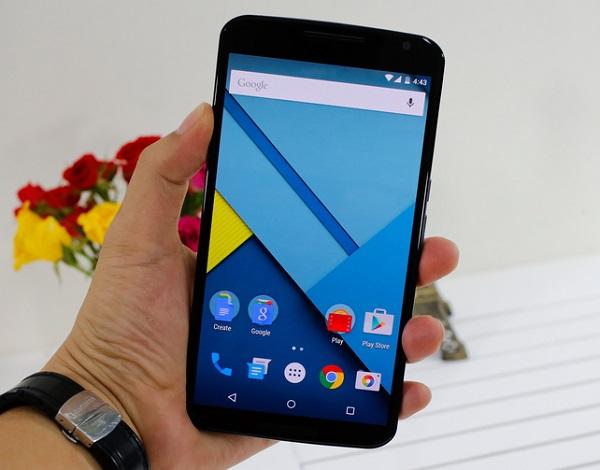 Motorola Nexus 6 cấu hình mạnh