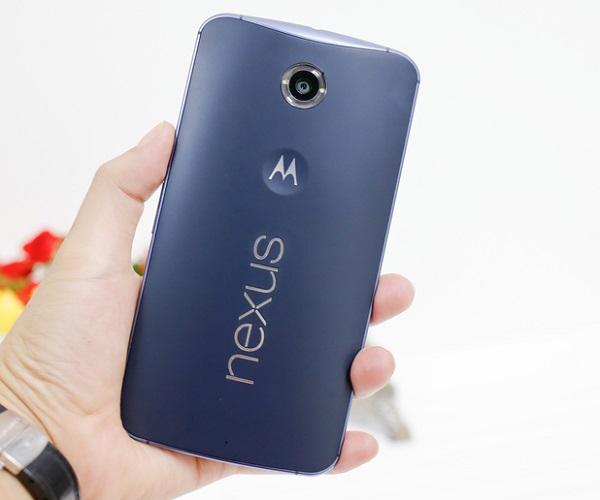 Nexus 6 thiết kế lưng