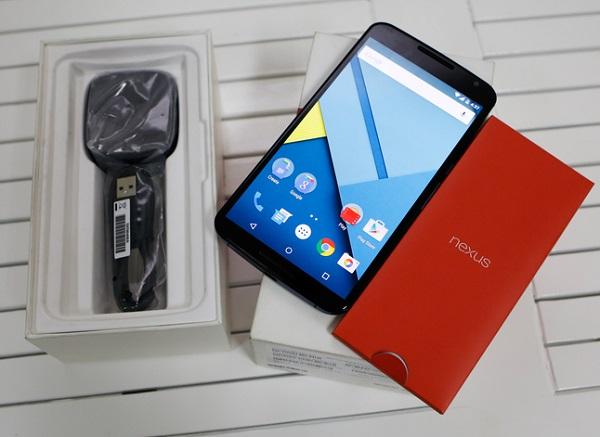 google nexus 6 chính hãng xách tay tại viettablet