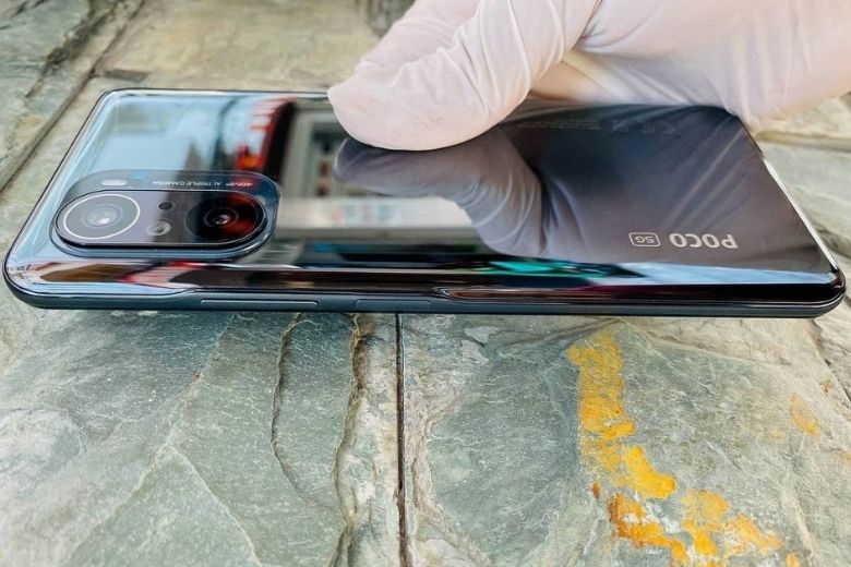 thiết kế Xiaomi Poco F3 (8GB - 256GB) Công Ty
