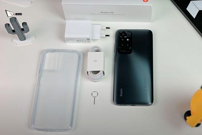 Xiaomi Redmi 10 thiết kế