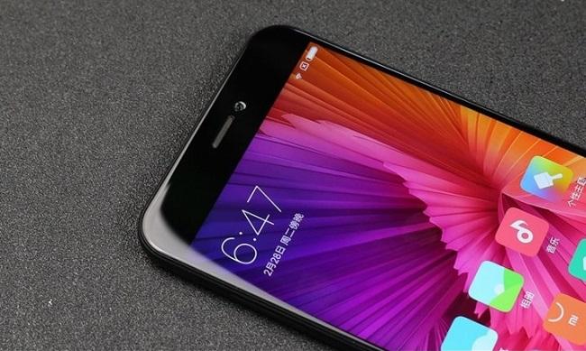 Xiaomi Mi 5c có viền màn hình mỏng