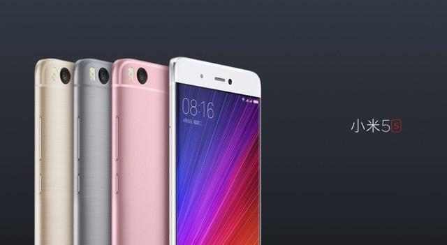 Xiaomi Mi 5s dùng con chip mạnh mẽ nhất hiện nay