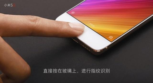 Xiaomi Mi 5s được trang bị cảm biến vân tay siêu âm mới