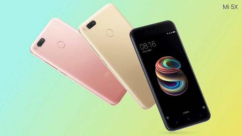 Xiaomi Mi 5X sẽ lên kệ với 3 màu sắc