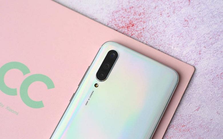 camera Xiaomi Mi CC9 RAM 6GB - 128GB