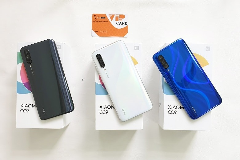 Xiaomi Mi CC9 đã có mặt tại Viettablet