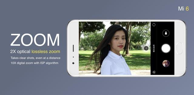 Camera Xiaomi Mi 6