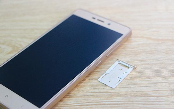 Xiaomi Redmi 3X hỗ trợ 2 SIM