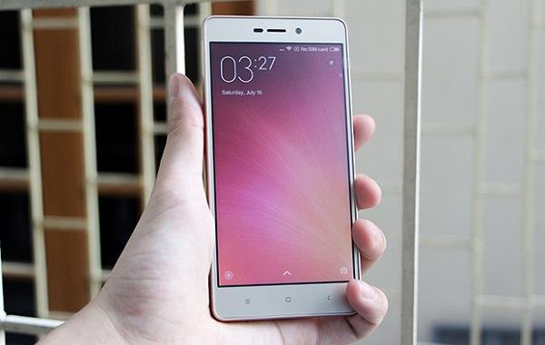 Màn hình Xiaomi Redmi 3X dừng ở mức HD