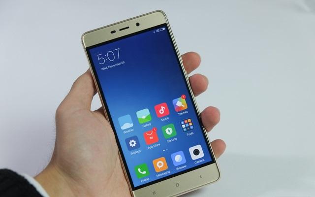 Xiaomi Redmi 4 có cấu hình vượt trội so với tầm giá