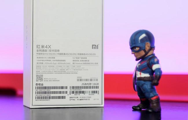 Xiaomi Redmi 4X chính hãng xách tay hộp ngoài