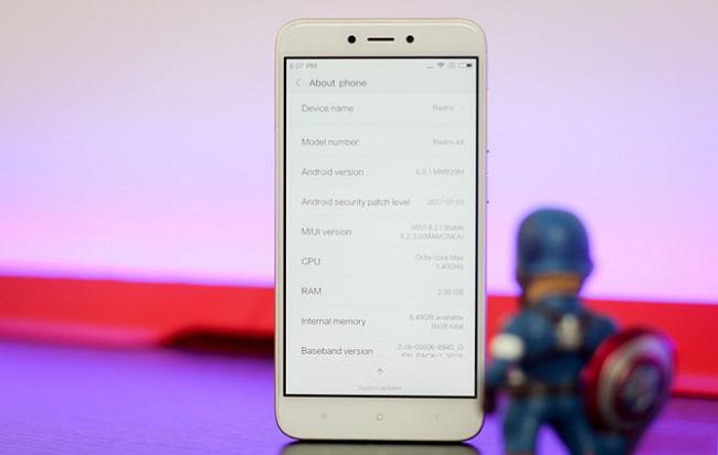 Giá bán Xiaomi Redmi 4X