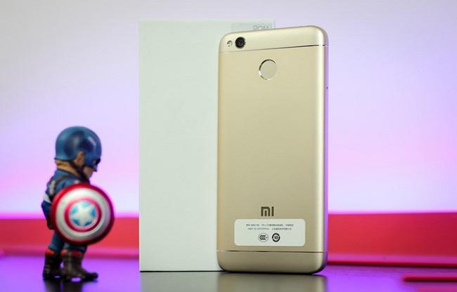 Thiết kế Xiaomi Redmi 4X, đẹp và sang trọng