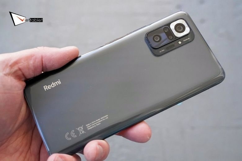 thiết kế  Redmi Note 10 Pro