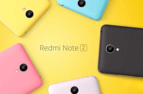 Xiaomi Redmi Note 2 cũ