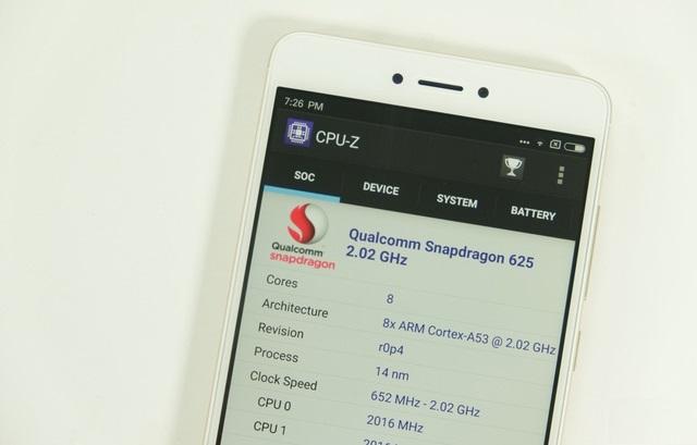 Cấu hình Xiaomi Redmi Note 4X
