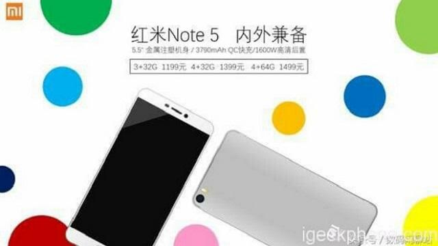 giá bán Xiaomi Redmi Note 5