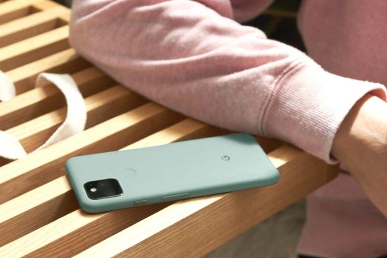 Google Pixel 5 màu xanh