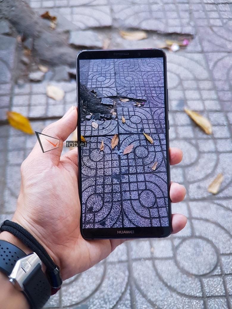 chụp ảnh thử trên Huawei Mate 10 Pro
