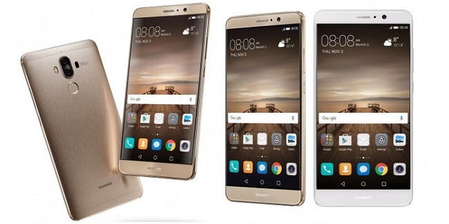 Huawei Mate 9 có thiết kế đẹp, sang trọng