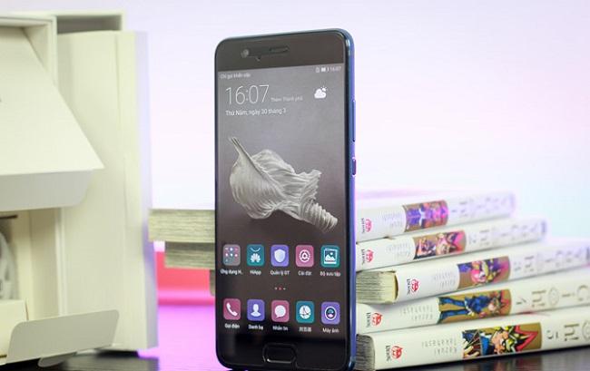 Phím Home trên Huawei 10 Plus