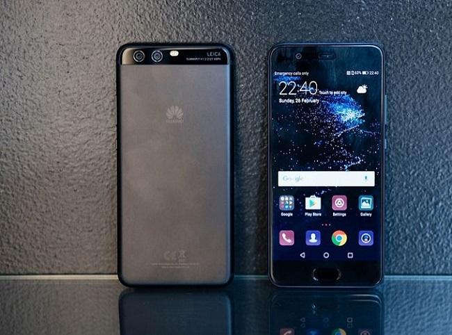 thiết kế Huawei P10