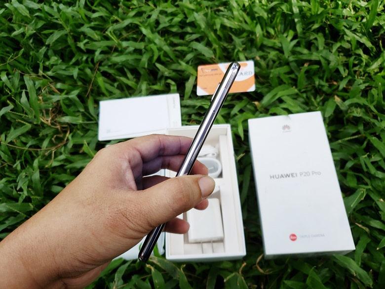 kích thước Huawei P20 Pro chính hãng