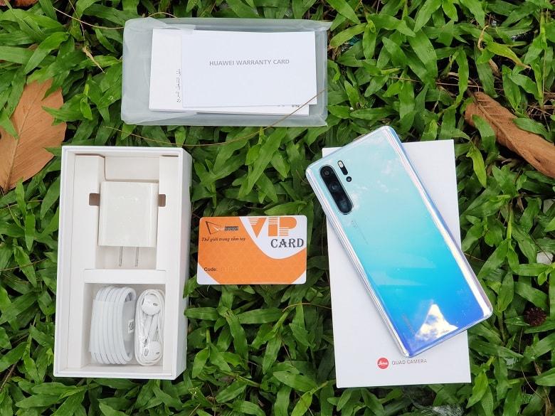 mở hộp Huawei P30 Pro chính hãng