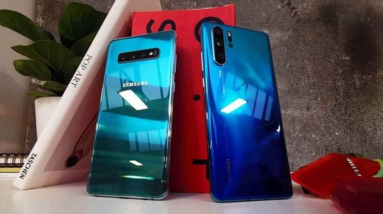 Huawei P30 Pro đọ dáng cùng Samsung Galaxy S10 5G