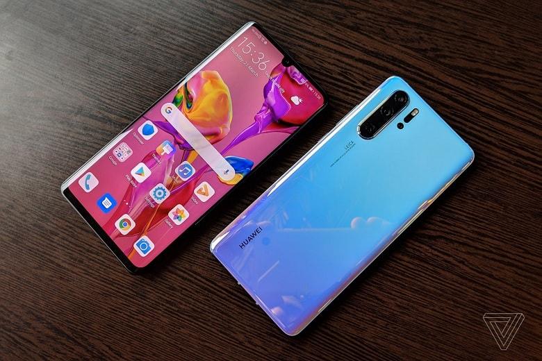 thiết kế Huawei P30 Pro chính hãng