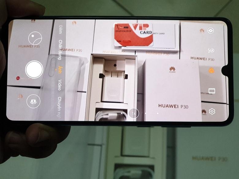 camera của Huawei P30 chính hãng