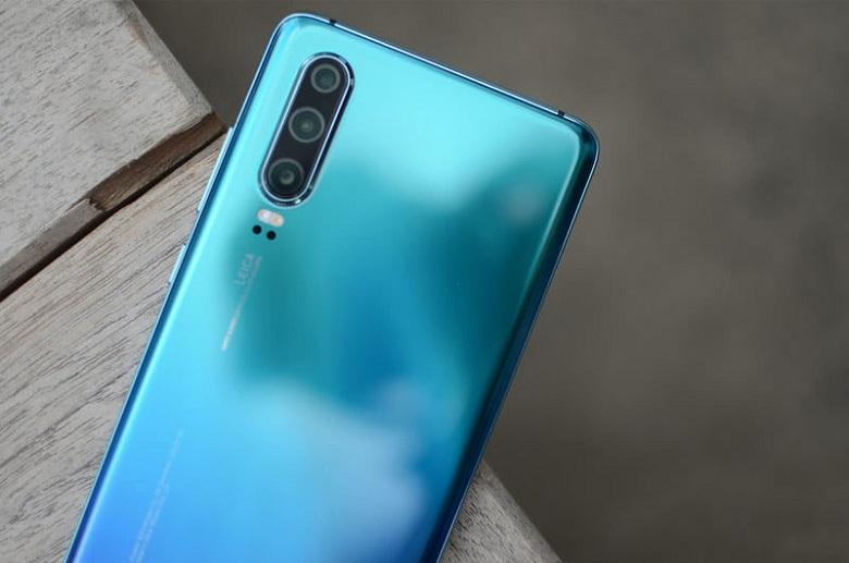 thiết kế của Huawei P30 chính hãng