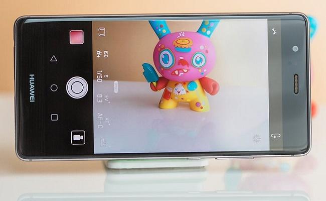 Giao diện chụp ảnh của Huawei P9 cũ