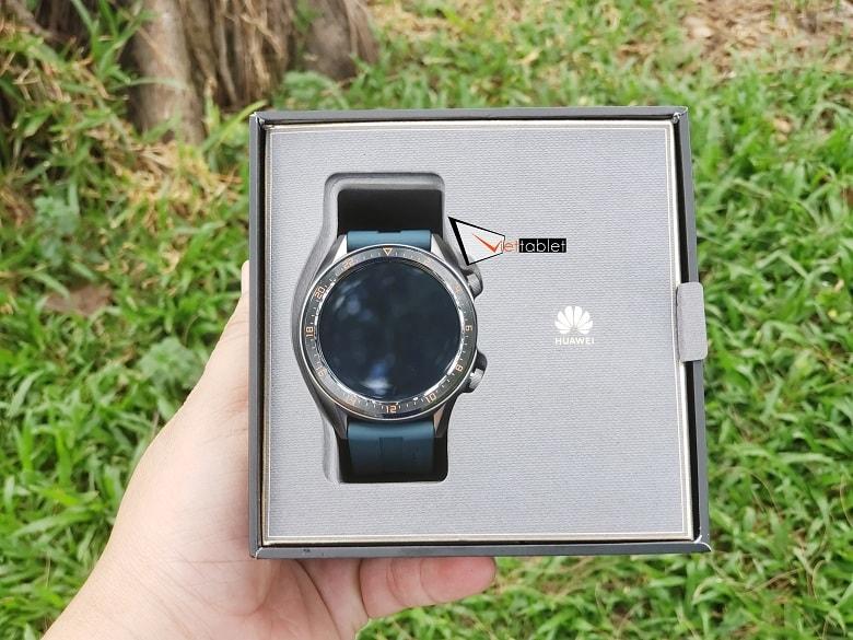 Mở hộp Huawei Watch GT Chính Hãng tại Viettablet