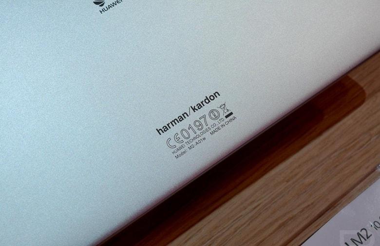 loa trên Huawei MediaPad M2 10 inch cũ