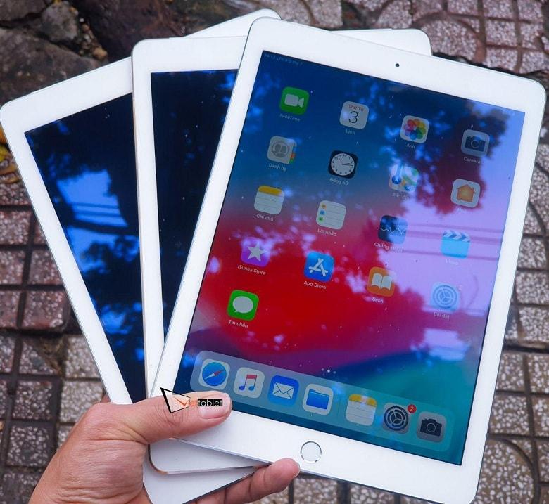 trên tay iPad Air 2 128GB 4G 99%