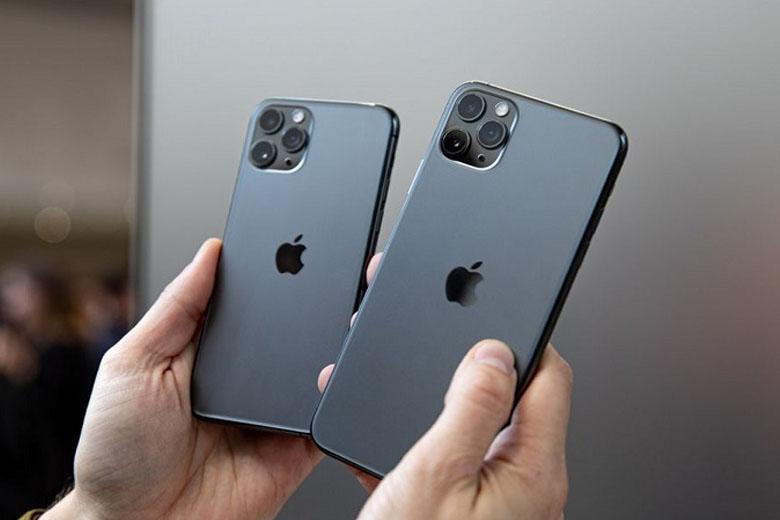 iphone 11 pro bên cạnh iphone 11 pro max