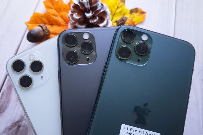 màu sắc iphone 11 pro TBH 64GB