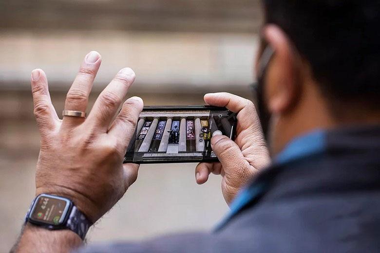 iPhone 12 Pro 512GB chính hãng chụp ảnh