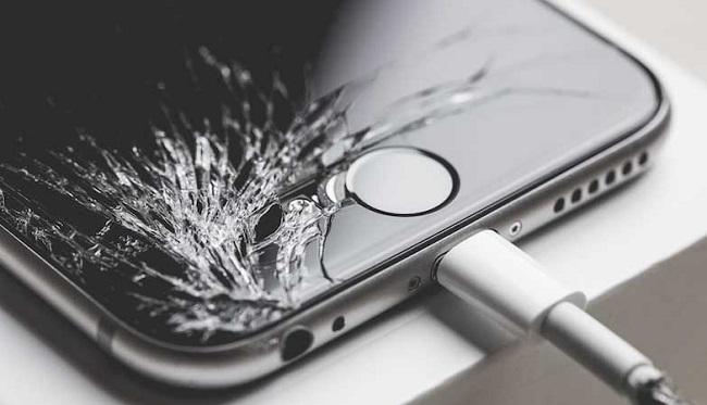 iPhone 6 mất vân tay do làm rớt vỡ