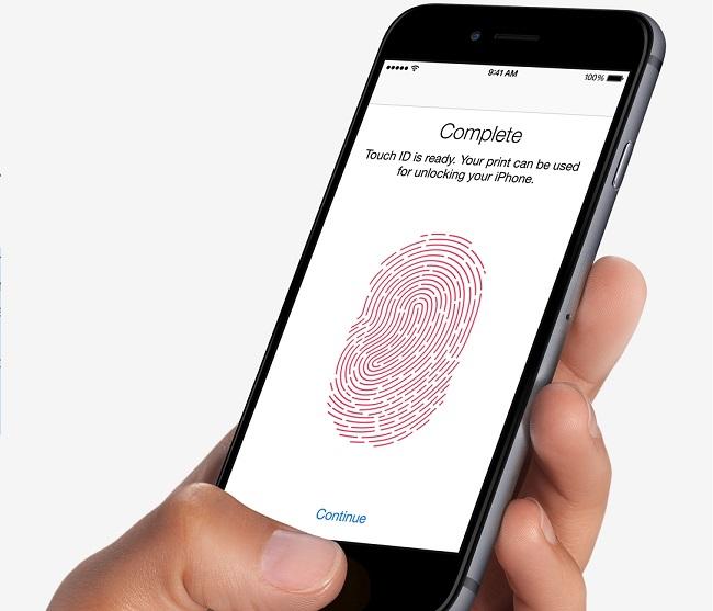iPhone 6 Plus Lock thiết kế vân tay