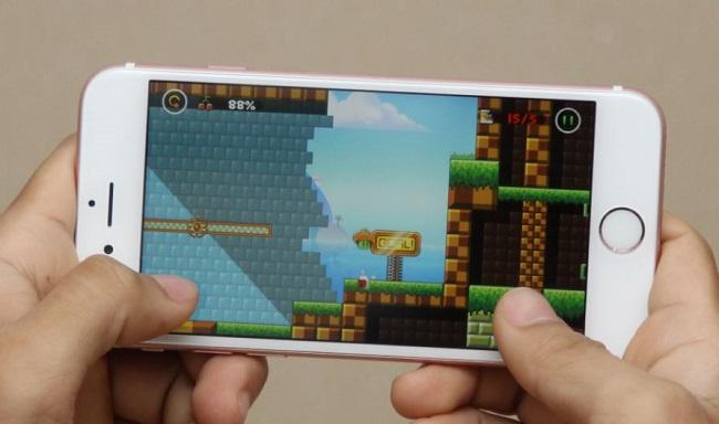 Chơi game thỏa thích trên iPhone 6S Lock