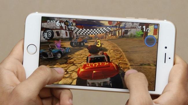 iPhone 6S Plus Lock dễ dàng chiến các game nặng một cách mượt mà